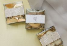 Michael & Jane Engagement Hampers by Calligraphy By Mercia