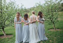 Dusty Blue by Apple Pie Weddings