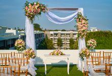 Rooftop Wedding by Courtyard by Marriott Bali Seminyak