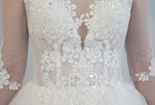 Bridal Gown Ivory by TomoSunyc Trading Inc