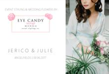Jericho & Julie by Eye Candy Manila Event Styling Co.