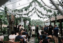Tropical Exotic Garden Wedding in Bali by Bali Izatta Wedding Planner & Wedding Florist Decorator