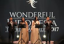 Wonderful Indonesia Tourism Awards 2017 by MAJOR ENTERTAINMENT