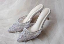 Light Gray for Bridal Shoes by Kasa The Label