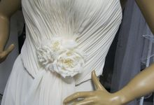 Bridal Dress by Pamela Falli