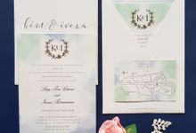 Kim & Ivena by Vinas Invitation