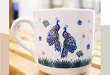 MUG TEA WEDDING H & S by Mug-App Wedding Souvenir