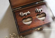 WEDDING BOX by The White Dove
