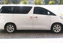 JJ Bride Bridal Mobil Pengantin Wedding Car Arman Fifi 7 April 2018 by Fendi Wedding Car