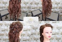 Wedding Hair Style by Lenny K Makeup Artist