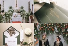 Myrna & Bagaskara by Peony and Brides Invitation