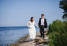 Relaxed Danish Wedding in Nature by Ieva Vi Photo