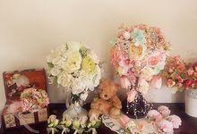 RAPUNZEL WEDDNG FLOWER by LUX floral design