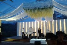 reception at Champaca Wedding Chapel by Padma Hotel Bandung