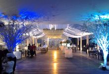 reception at Champaca Wedding Chapel by Padma Hotel Bandung
