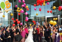 Wedding Balloon by House of Balloon