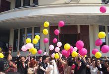 The Wedding of Handoko & Irine by BLAZE EVENT ORGANIZER