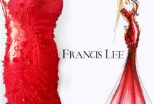 Lady in Red by Francis Lee
