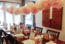 Decoration - Bridal Shower @Downtown Villas by Pumpkin and Roses Wedding Planner & Stylist