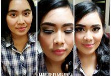 wedding and regural makeup by nisarosa_house
