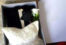 Snowy White Wedding Pillow Collections by Fashion Pillow Weds