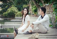 Prewedding session S&A by piximo photography