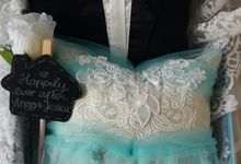 Adorable Tiffany Blue Wedding by Fashion Pillow Weds