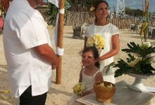 Renewal Vows of Aly & Edie, from Australia-Chili by Bali-Dream