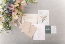 Modern Loft Wedding Ceremony by Stone House Creative