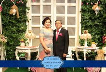 Photobooth Session on Ivan & Ivana Wedding Reception by B'Capture