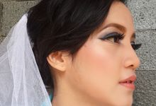 Shanti trial wedding makeup by Nic Makeup Art