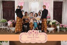 Photobooth on Assa & Sari Wedding Reception by B'Capture