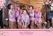 Wedding day fitri & Rahmad by Adiva Photobooth