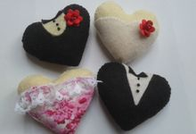 Heart Variations by JollyMe Felt Studio