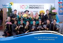 kickoff100stp taman sain dan teknologi indonesia by Adiva Photobooth
