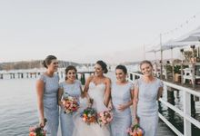 Beach wedding by Wild Blossom Flowers