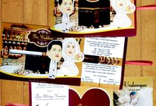 Wedding Invitation by Abud Creative Design