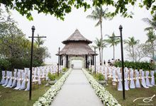 Beach Wedding at Shangri-La's Rasa Ria Resort & Spa by Shangri-La Rasa Ria Resort & Spa