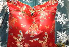 Modern Chinese Wedding Pillow Collections by Fashion Pillow Weds