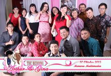 Arthur & Gina - Photo booth by Cheers and Happy Photobooth