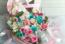Bloombox Wedding Favors by Roy Bouquet