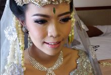Wedding day Heru and Rera by Reborn Beauty by Katarina Lidya MUA