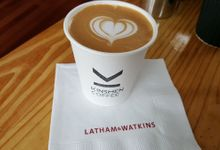 Latte Art by Kinsmen Coffee