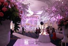 Wedding at Cengkeh Ballroom by Menara Peninsula Hotel