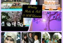 Raha & Selli by D'Best Wedding Organizer