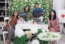 Siska & ben wedding by instafunbooth