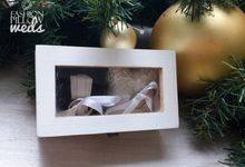 Little Wedding Ring Box by Fashion Pillow Weds