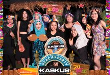 kaskus beach party by instafunbooth