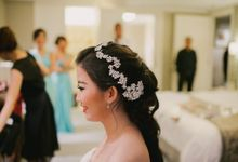 Shely and Kelvin Wedding by Moisel Makeup