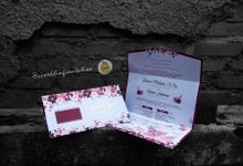 TRIFOLD ENVELOPE COLLESTION by ccweddinginvitation